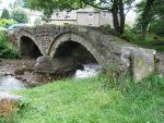 Pack-horse bridge at Wycoller, Lancashire.